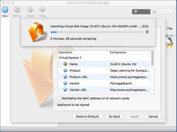 Your deep learning + Python Ubuntu virtual machine